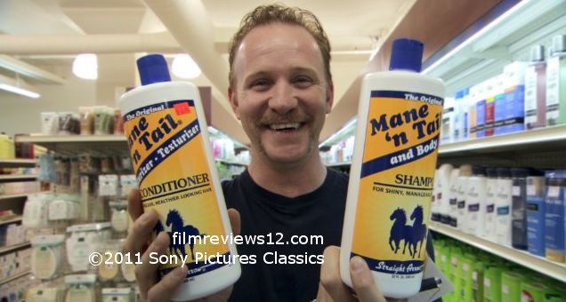 Mane 'n Tail shampoo -- it contains separate instructions for human and animal use, apparently.