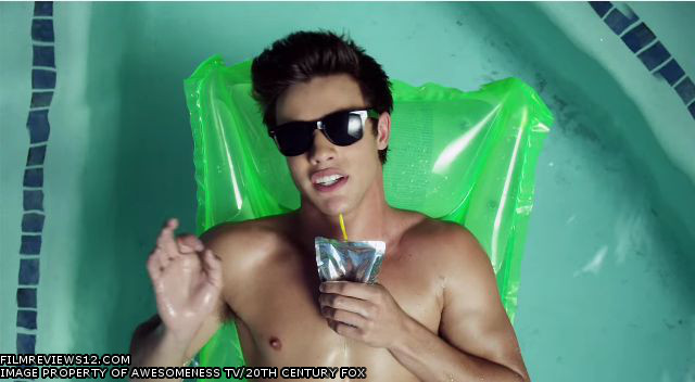 "Cameron Dallas puts on his best sunglasses in this scene from Alex Goyette's ""Expelled""."