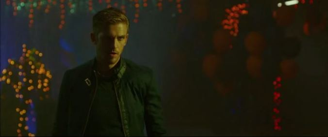 Dan Stevens in a scene from Adam Wingard's