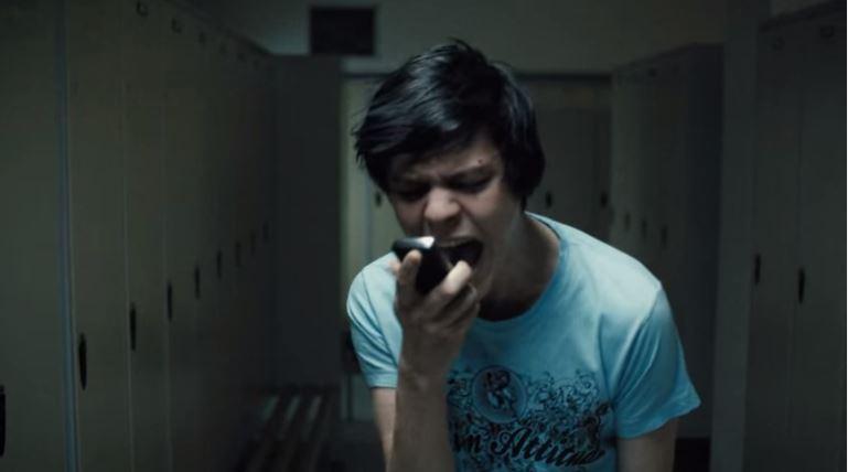 Jakub Gierszał in a scene from Jan Komasa's Suicide Room.